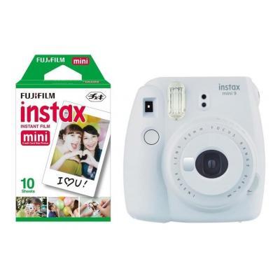 Fujifilm Instax Mini 9 + 10 instant picture film Direct klaar camera - Wit