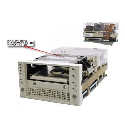 Hewlett Packard Enterprise SP/CQ Drive DLT 8000 40/80GB Int. TL892 Tape drive - Wit