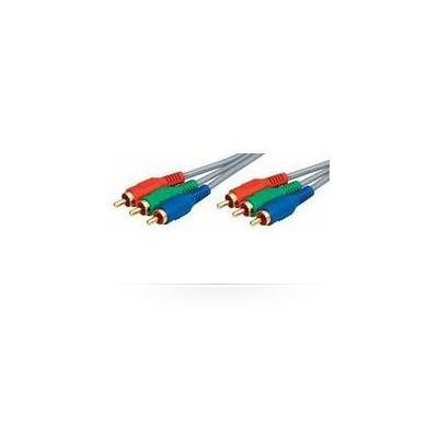 Microconnect : 20m, 3xRCA - 3xRCA - Grijs
