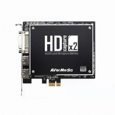 Avermedia TV tuner: DarkCrystal HD Capture SDK Duo (C129) - Zwart