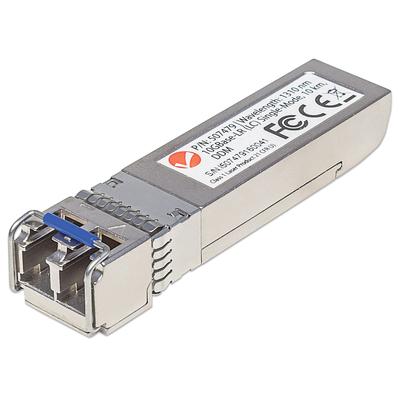 Intellinet 10 Gigabit Fibre SFP+ Optical Transceiver Module, 10GBase-LR (LC) Single-Mode Port, 10km Netwerk .....