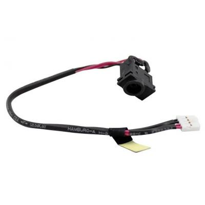 Samsung notebook reserve-onderdeel: DC-In Cable - Zwart