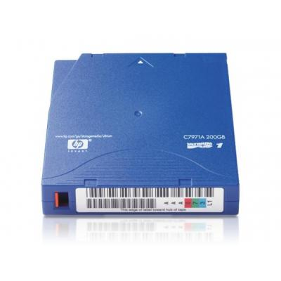 HP Linear Tape Open (LTO) Ultrium-1 tape cartridge (Blue color) - 319m (1047ft), 100GB native capacity (200GB with .....