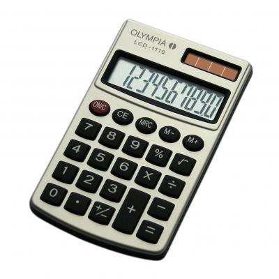 Olympia LCD 1110 Calculator - Zilver