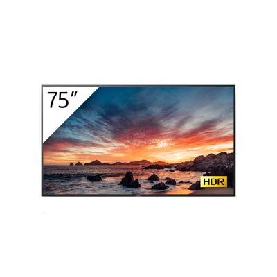 """Sony 75"""", QFHD, 3840 x 2160, LCD IPS, 500 cd/m², 1400:1, 8 ms, DVB-T/T2, DVB-C, DVB-S/S2, Wi-Fi, HDCP, RF, IF, ....."""