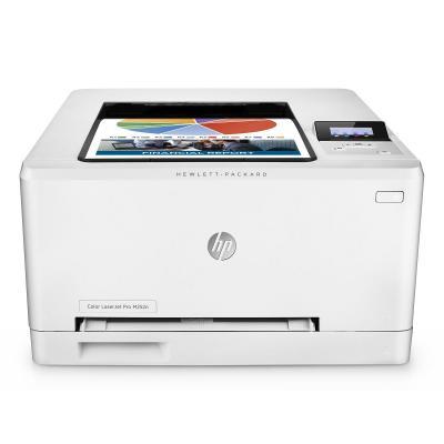 Hp laserprinter: LaserJet Color Pro M252n - Zwart, Cyaan, Magenta, Geel