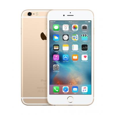 Apple smartphone: iPhone 6s Plus 128GB Gold - Goud (Refurbished LG)