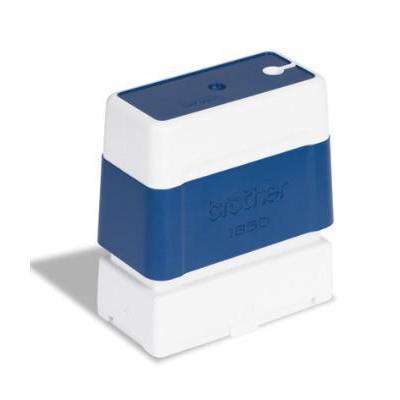 Brother stempel: PR1850E6P 18x50mm blue (Bestel per 6 eenheden) - Blauw