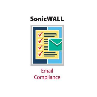 Dell software licentie: SonicWALL Email Compliance Subscription - 100 Users - 1 Server (2 Years)