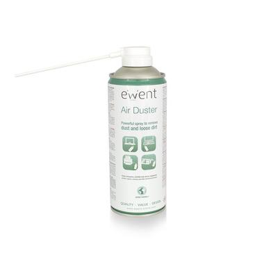 Ewent Air Duster, 400ml Reinigingskit - Wit