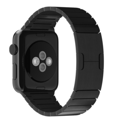 Apple : Schakelarmband, spacezwart (42 mm)