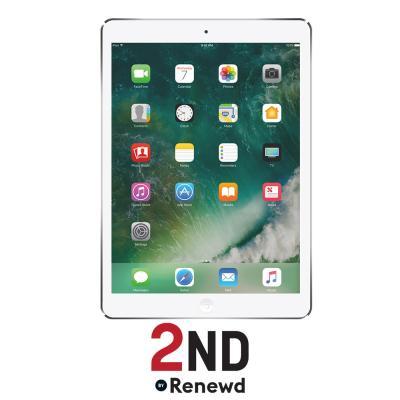2nd by renewd tablet: Apple iPad Air 1 Wifi + 4G refurbished door 2ND - 64GB Zilver (Refurbished ZG)