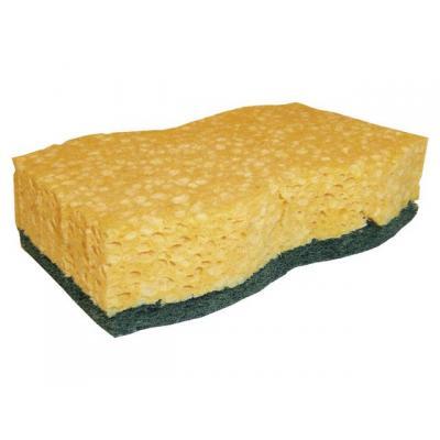 Scotch-brite schoonmaakdoek: Schuurspons Cellulose/pak 6