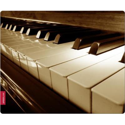 Speed-link muismat: SILK Mousepad, Piano - Veelkleurig