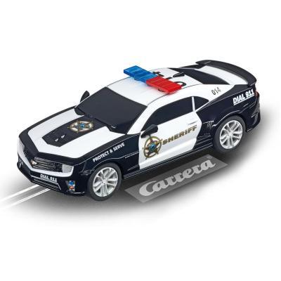 "Carrera toy vehicle: Chevrolet Camaro ""Sheriff"" - Zwart, Wit"