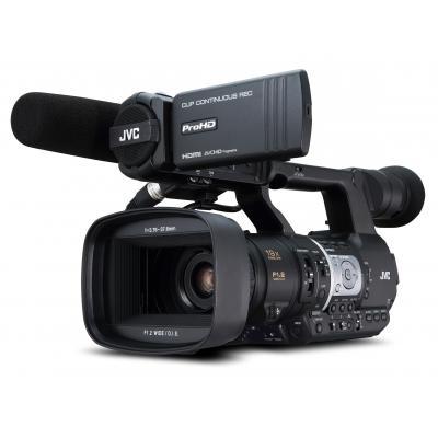 Jvc digitale videocamera: JY-HM360 - Zwart