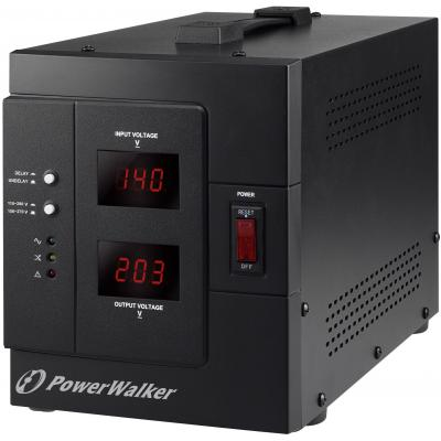 Bluewalker voltage regulator: AVR 3000 SIV FR - Zwart