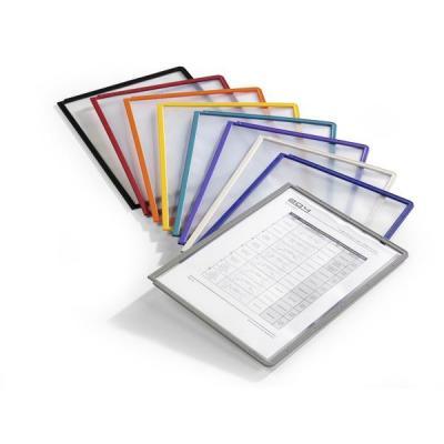Durable : SHERPA Zichtpanelen met profiellijst voor DIN A4 formaat - Multi kleuren