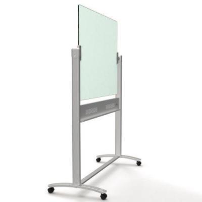 Nobo whiteboard: Diamond Mobiel Kantelglasbord, 900x1200mm