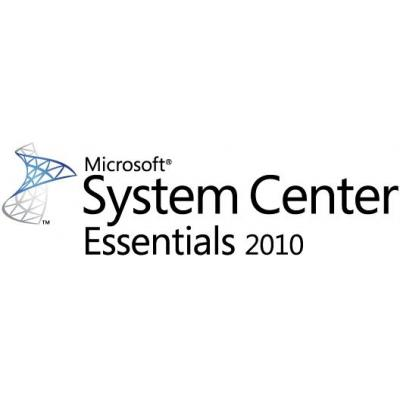 Microsoft software: System Center Essentials 2010, MLP, EN