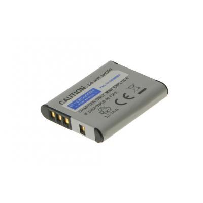 2-power batterij: Digital Camera Battery, Li-Ion, 3.7V, 750mAh, Grey - Grijs