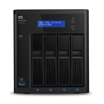 Western Digital My Cloud PR4100 NAS - Zwart