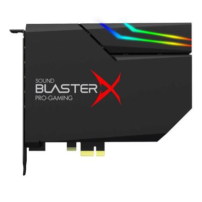 Creative Labs Sound BlasterX AE-5 Plus Geluidskaart - Zwart