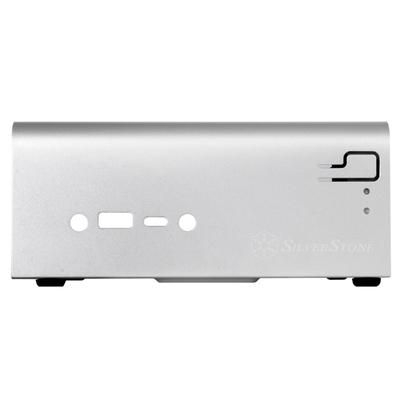 Silverstone Intel Mini-STX, 0.8mm SECC, USB 3.0 port x 1 Behuizing - Wit