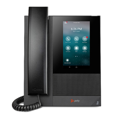 POLY CCX 400 IP telefoon - Zwart