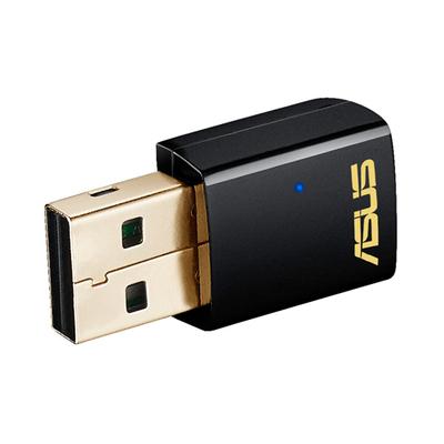 ASUS USB-AC51 Netwerkkaart - Zwart