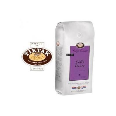 Tiktak koffie: Cafe Creme Latin Dance koffie bonen 6x1000 gram