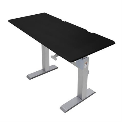 Ergotron : WorkFit-DL - Zwart