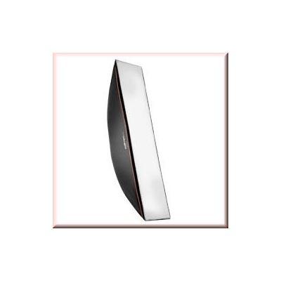 Walimex softbox: pro Softbox OL 30x120cm Multiblitz P - Zwart, Wit