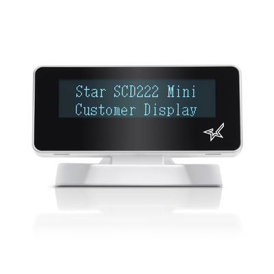 Star Micronics SCD222U Paal display - Wit