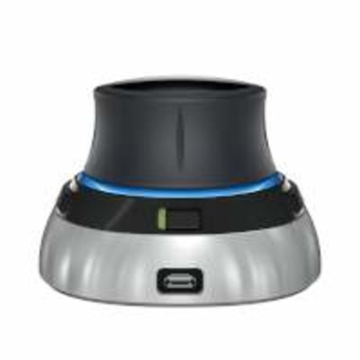 3Dconnexion 3DX-700066 Toetsenbord accessoire - Zwart, Grijs