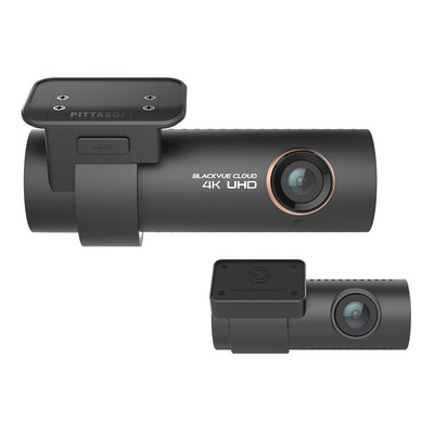 Blackvue DR900S-2CH 256GB Premium 4K UHD Cloud Dashcam + 256GB Stekker & connector