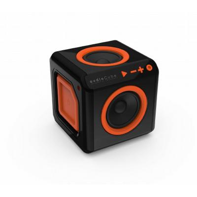 Allocacoc bluetooth music receiver: 40Hz-20kHz, 90dB, Bluetooth 4.0, 100V-240V, 50-60Hz, 30W - Zwart, Oranje