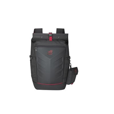 ASUS ROG Ranger Backpack laptoptas - Zwart, Rood