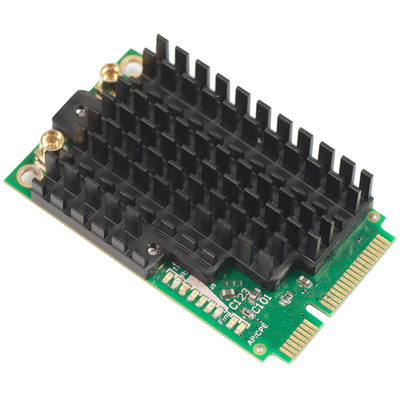 Mikrotik R11E-2HPND Netwerkkaart - Groen, Zwart