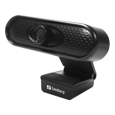 Sandberg USB 1080P HD Webcam - Zwart