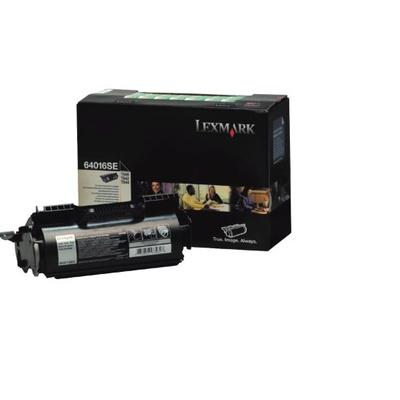 Lexmark T64x Return Programme Cartridge Toner - Zwart