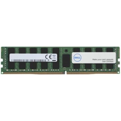 Dell RAM-geheugen: 8GB 1Rx8 UDIMM DDR4 2400MHz - Zwart, Groen