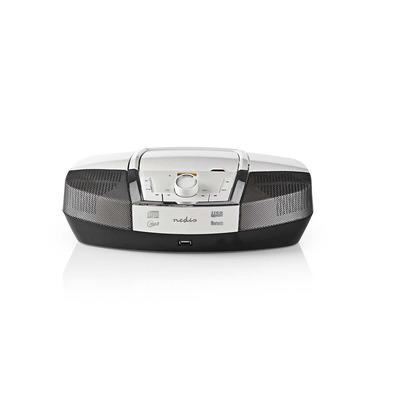 Nedis SPBB200WT CD speler - Wit