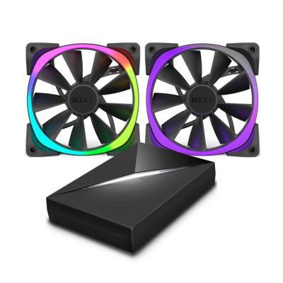 Nzxt Hardware koeling: Aer RGB & HUE+ - Zwart
