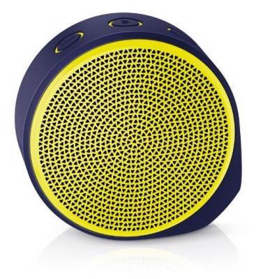 Logitech draagbare luidspreker: X100 Mobile Speaker - Zwart, Geel