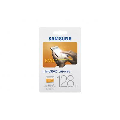 Samsung flashgeheugen: MB-MP128D - Oranje, Wit