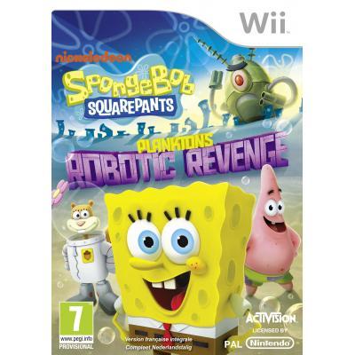 Activision game: SpongeBob SquarePants, Plankton's Robotic Revenge  Wii