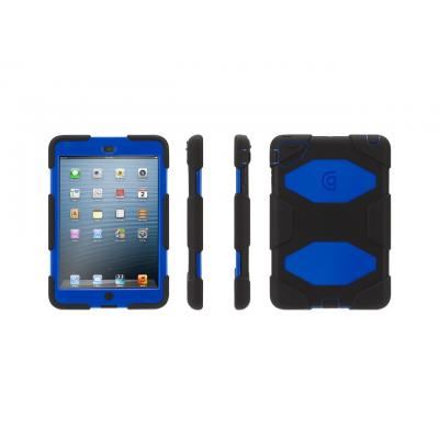 Griffin Survivor All-Terrain for iPad Mini 1/2/3 Tablet case - Zwart, Blauw