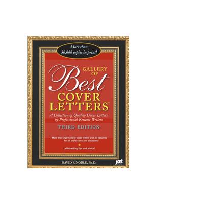 Jist publishing boek: Gallery of Best Cover Letters - eBook (PDF)