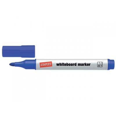 Staples markeerstift: Marker SPLS 8620 witbord blauw/doos 10
